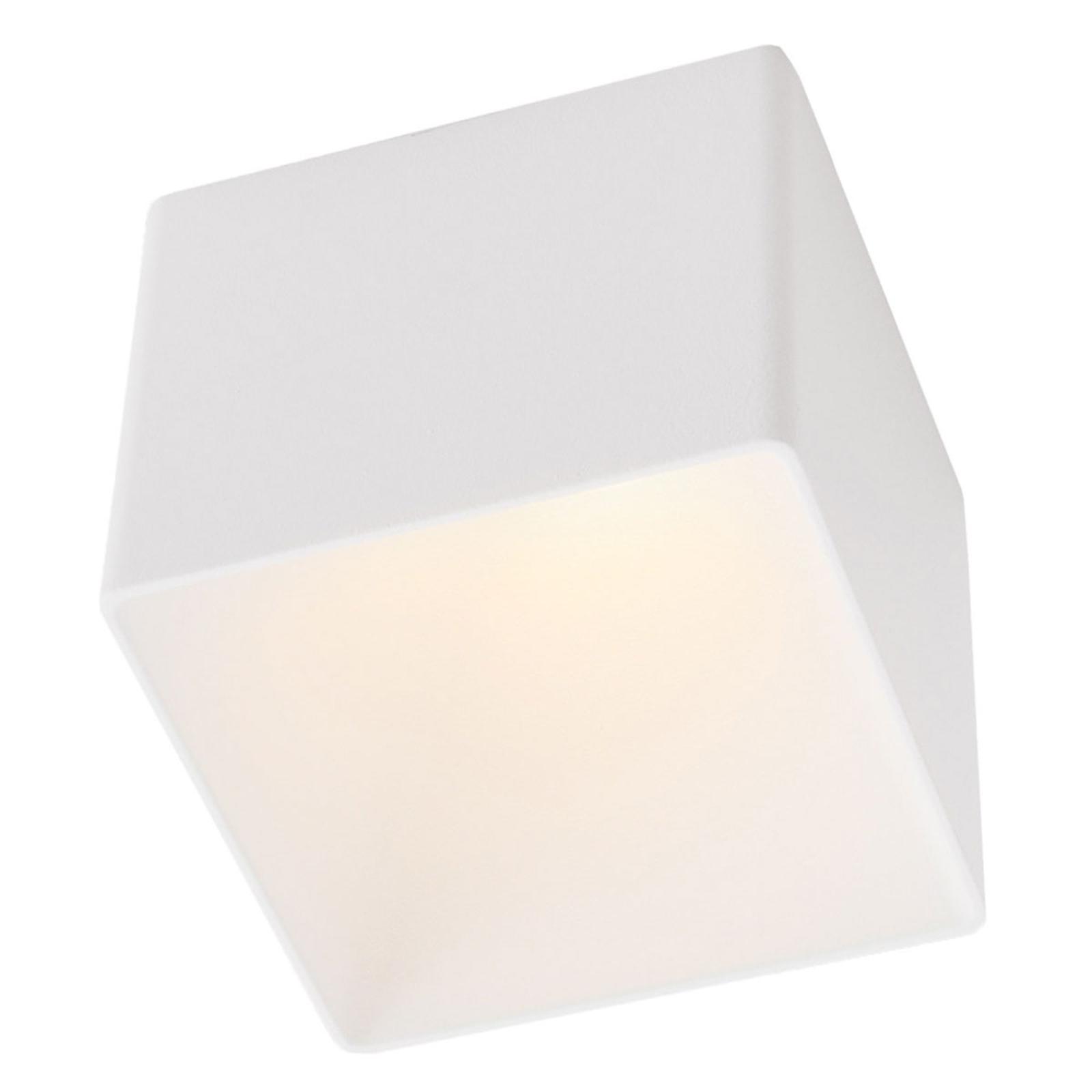 GF design Blocky Einbaulampe IP54 weiß 2.700 K