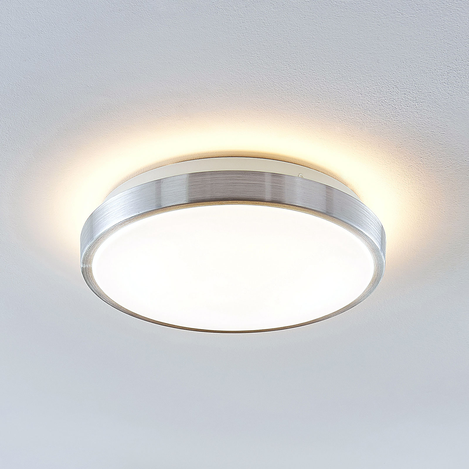 Lindby Emelie LED plafondlamp, rond, 27 cm
