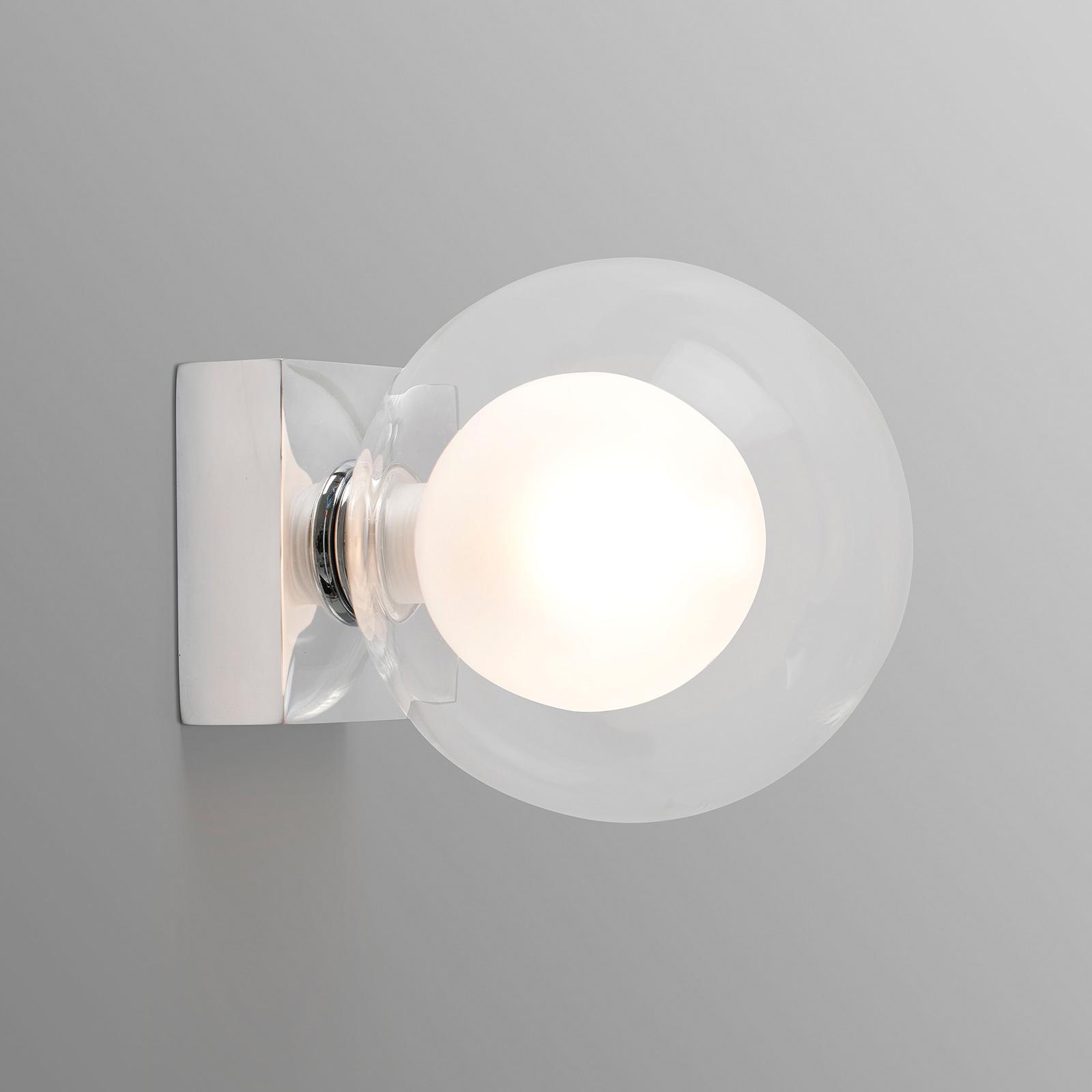 Vägglampa Perla, krom