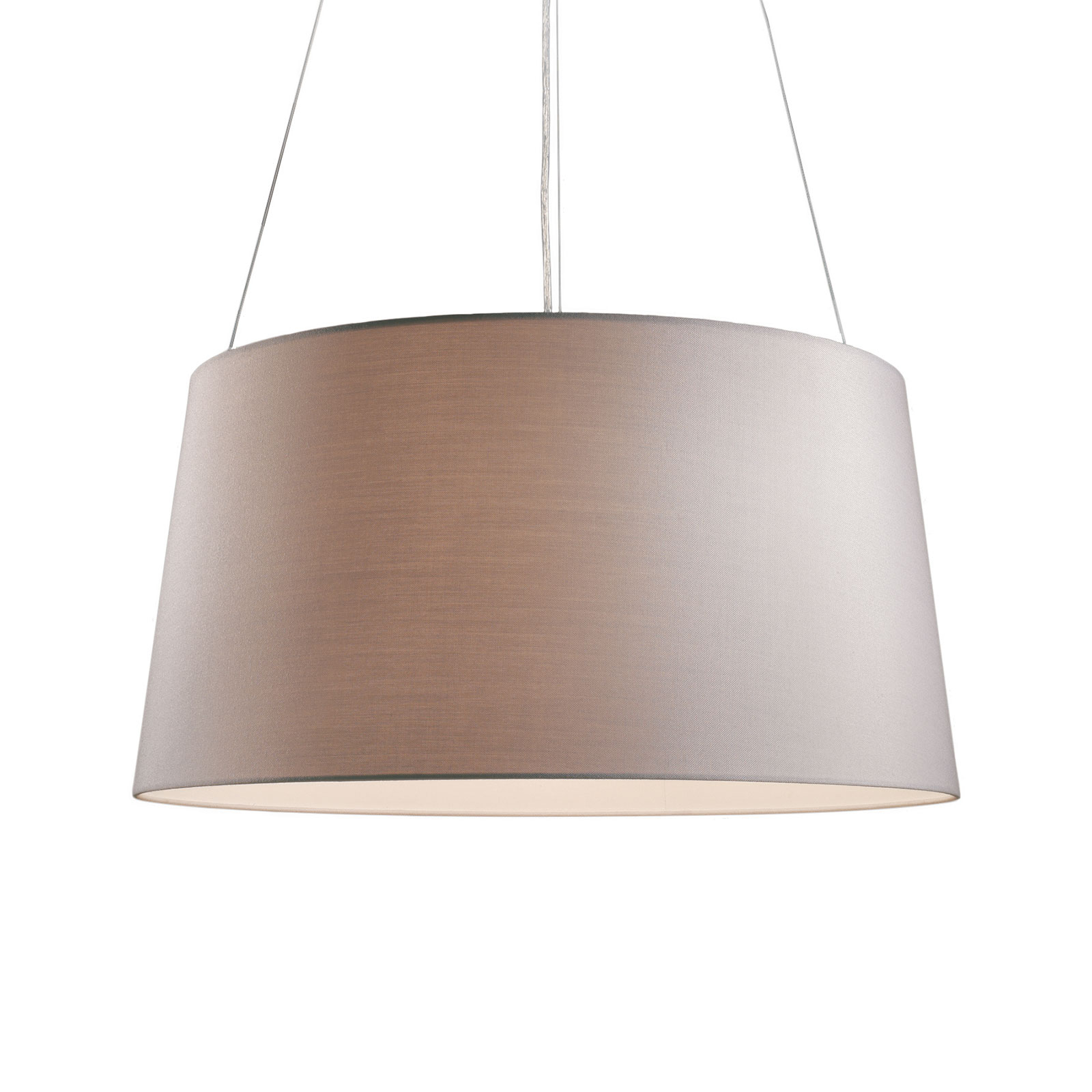 Kundalini Tripod lampada a sospensione, crema