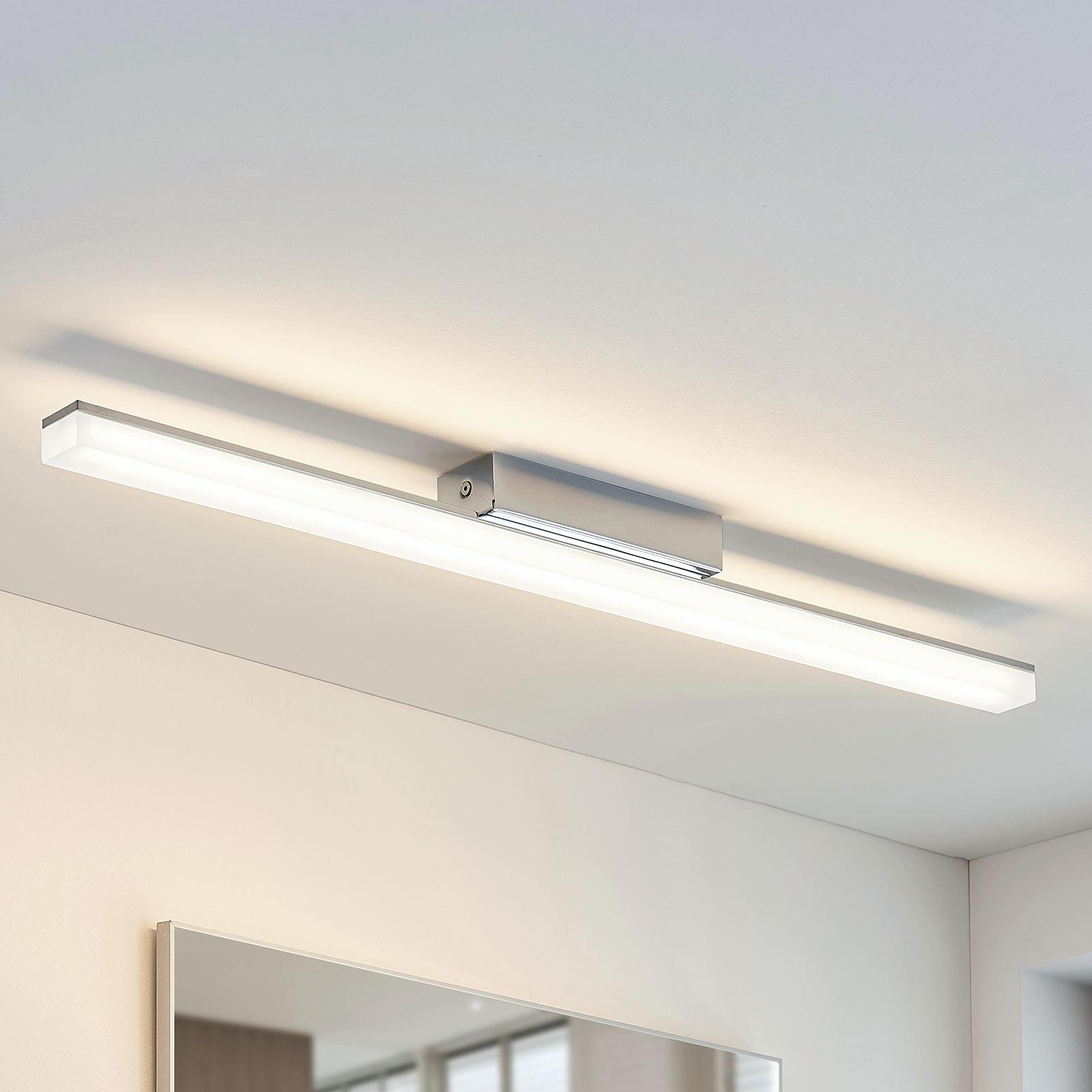 Bad-taklampe Levke med LED-lys, IP44