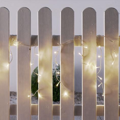 LED-jääpuikkosarja ulkotiloihin, 144-lamppuinen