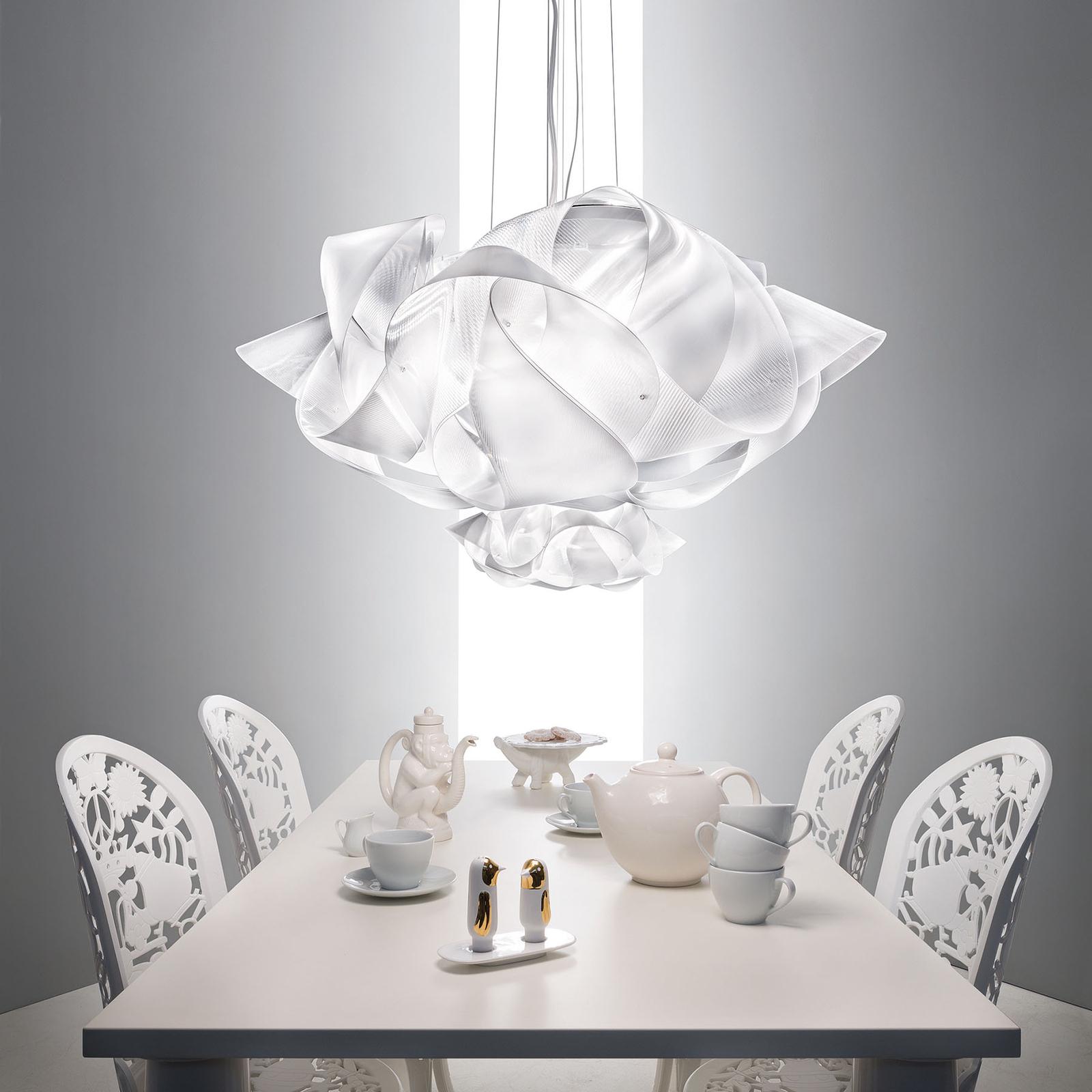 Slamp Fabula designer pendant light, clear, large_8503444_1