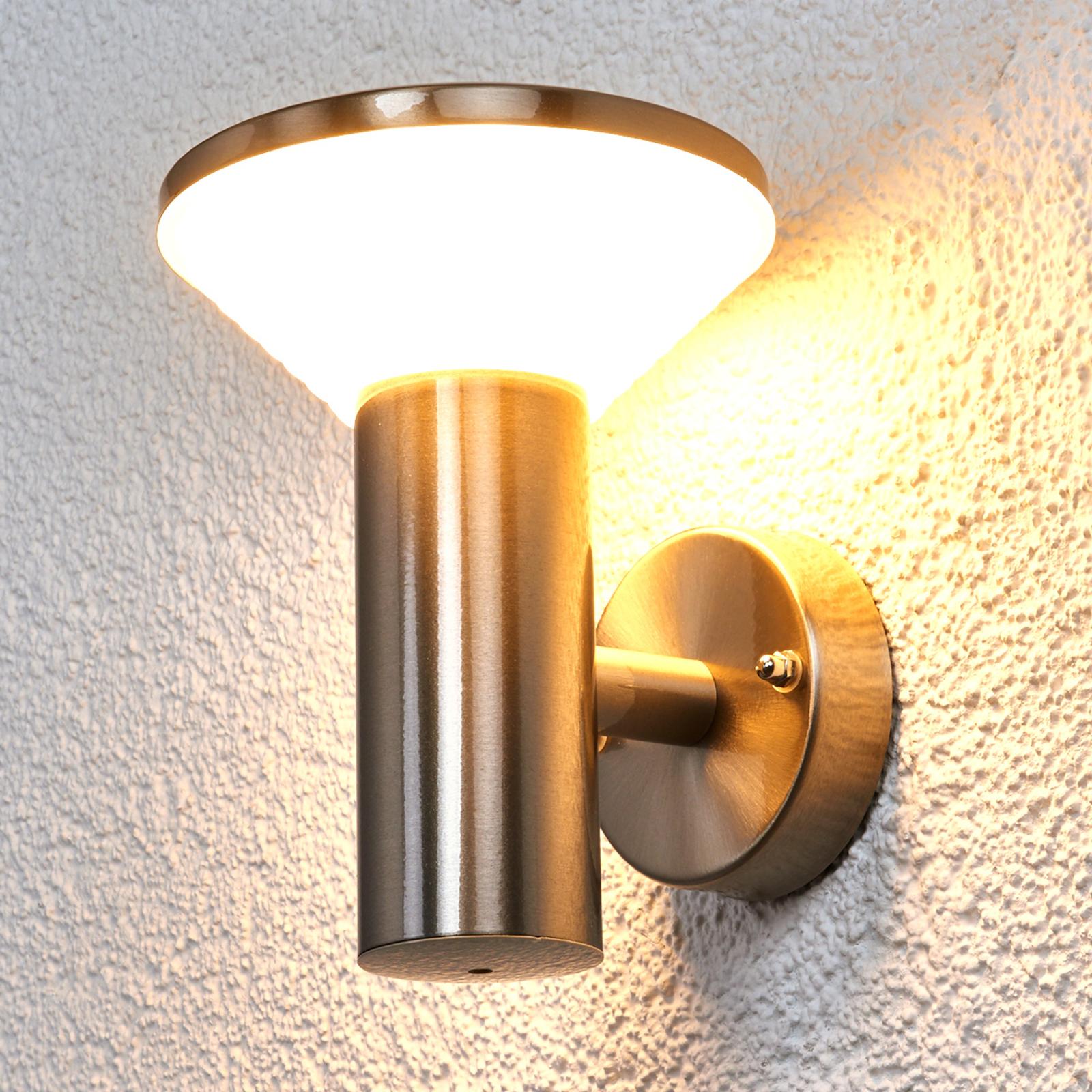 Applique extérieure en inox Tiga LED