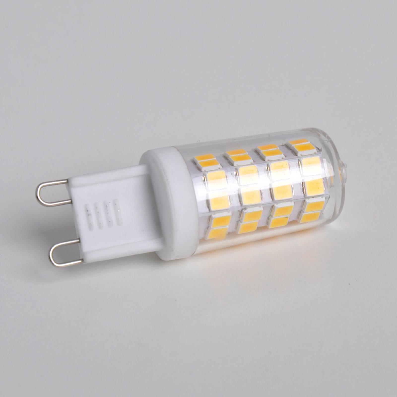 LED stiftlamp G9 3W, warmwit, 330 lumen