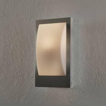 EGLO connect Verres-C LED-Außenwandlampe Edelstahl