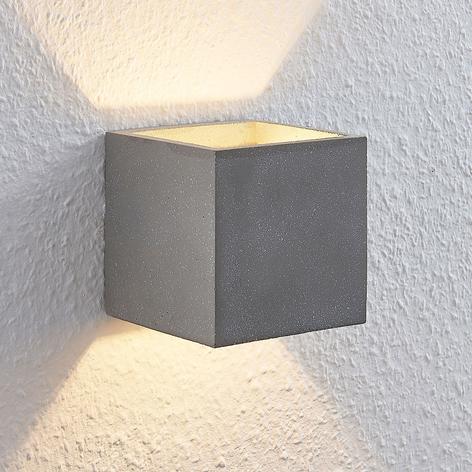 Lindby Nellie LED nástěnné světlo, šířka 11,5 cm