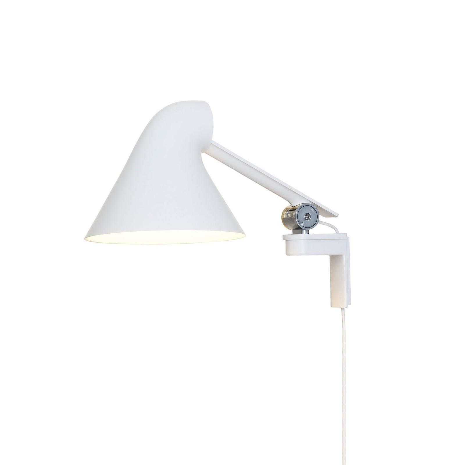 Louis Poulsen NJP LED wandlamp arm kort, wit