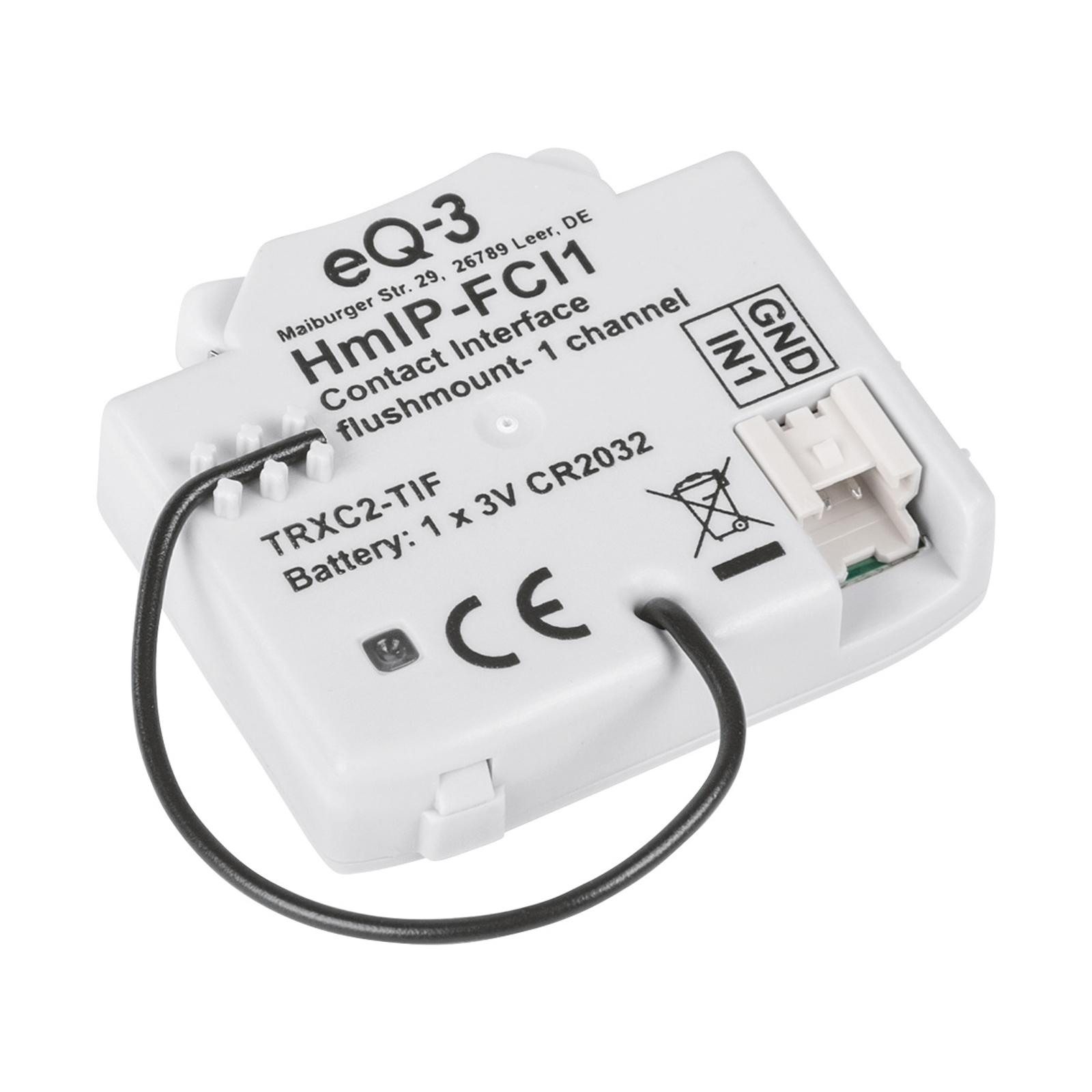 Homematic IP interface de contact encastrée 1 x