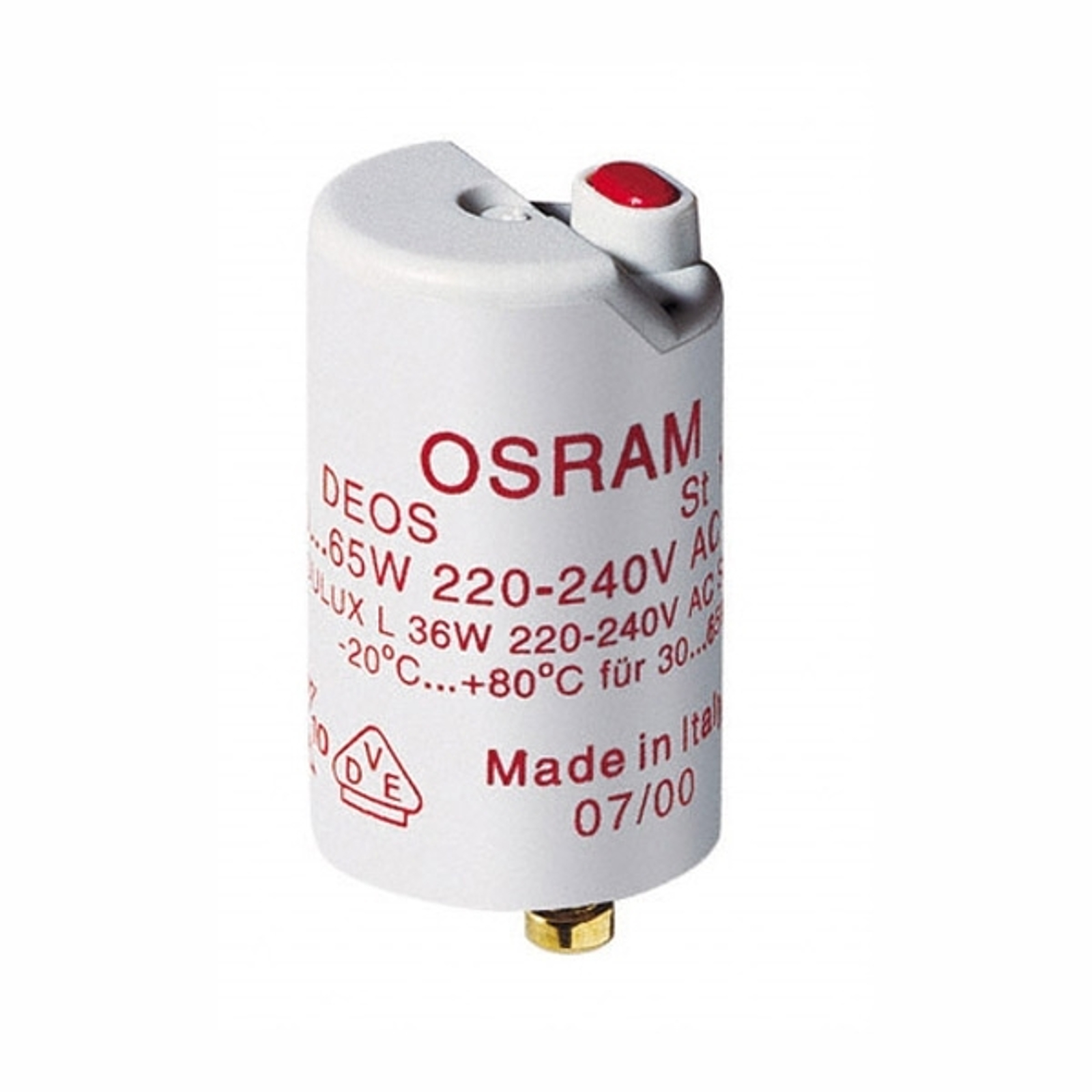 Cebador ST171 en bombillas fluorescentes 36-65W