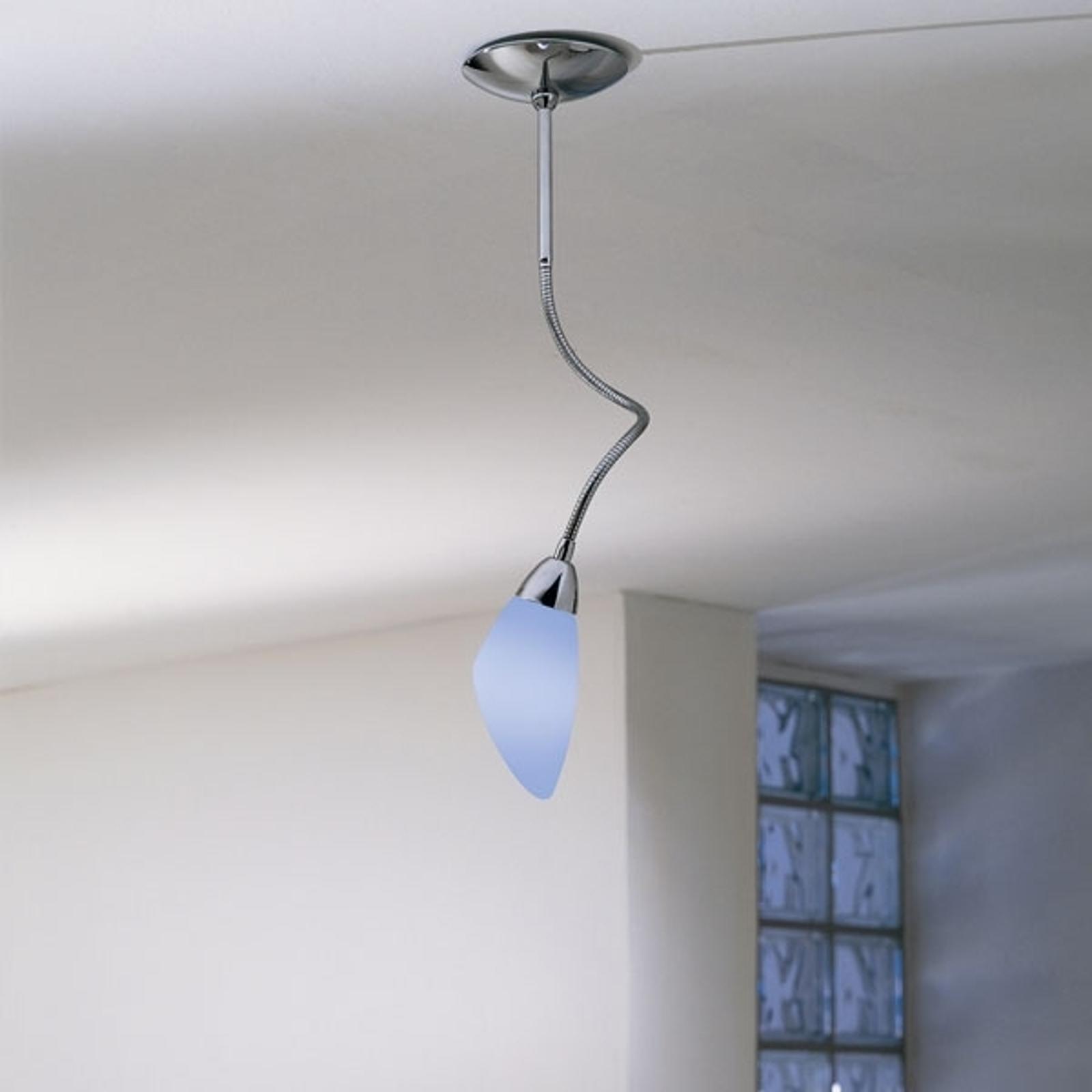 de Majo Poli Po-loftlampe chrome med 1 lyskilde