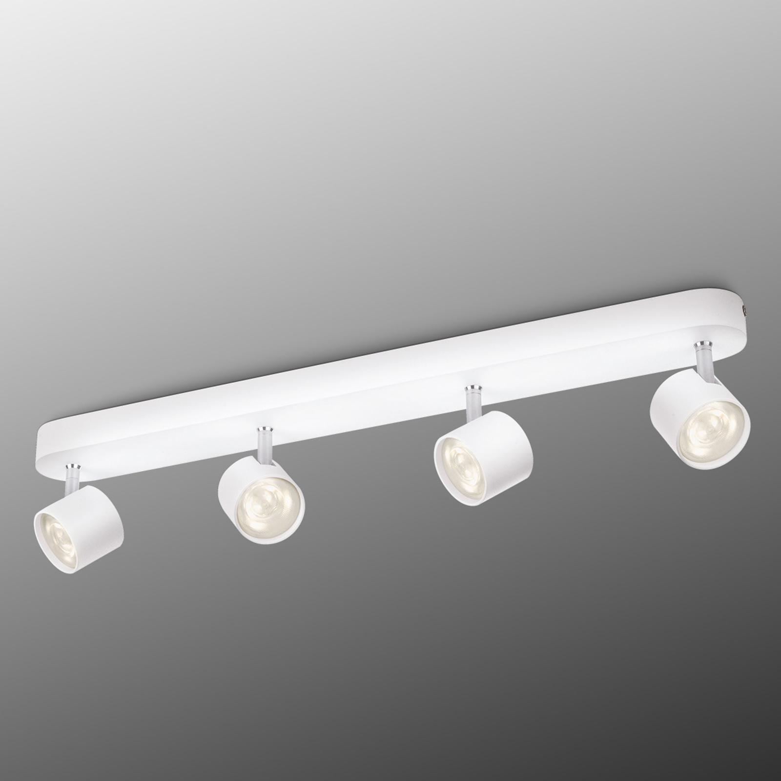 4-punktowa lampa sufitowa LED STAR