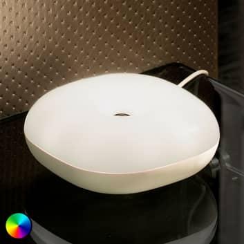 Tischlampe Move mit USB-Anschluss, gestengesteuert