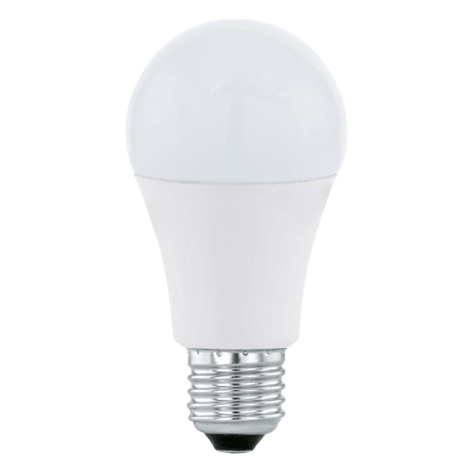 LED-Lampe E27 A60 12W, warmweiß, opal