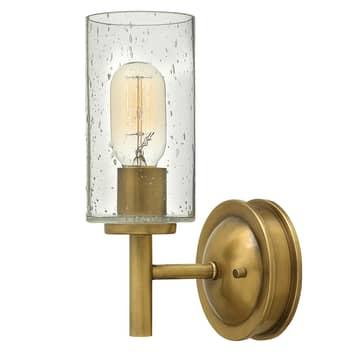 Collier - stilfuld væglampe i antik look