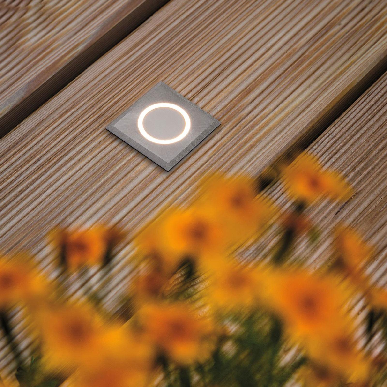 Paulmann House Bodeneinbauleuchte IP65 eckig Ring