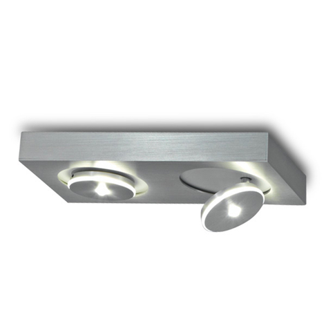 Escale Spot It - modern LED-taklampa, 2 lampor