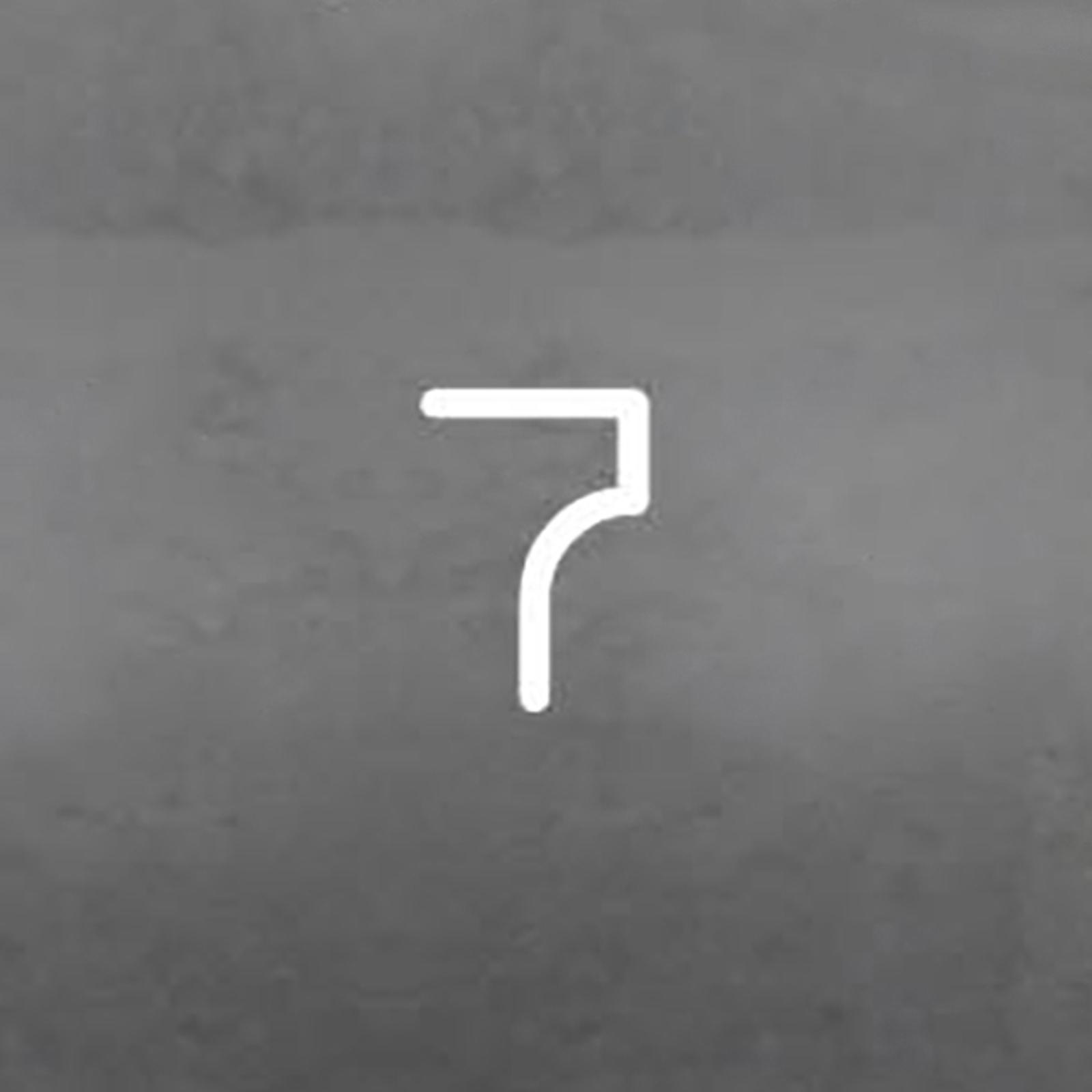 Artemide Alphabet of Light Wandleuchte Zahl 7