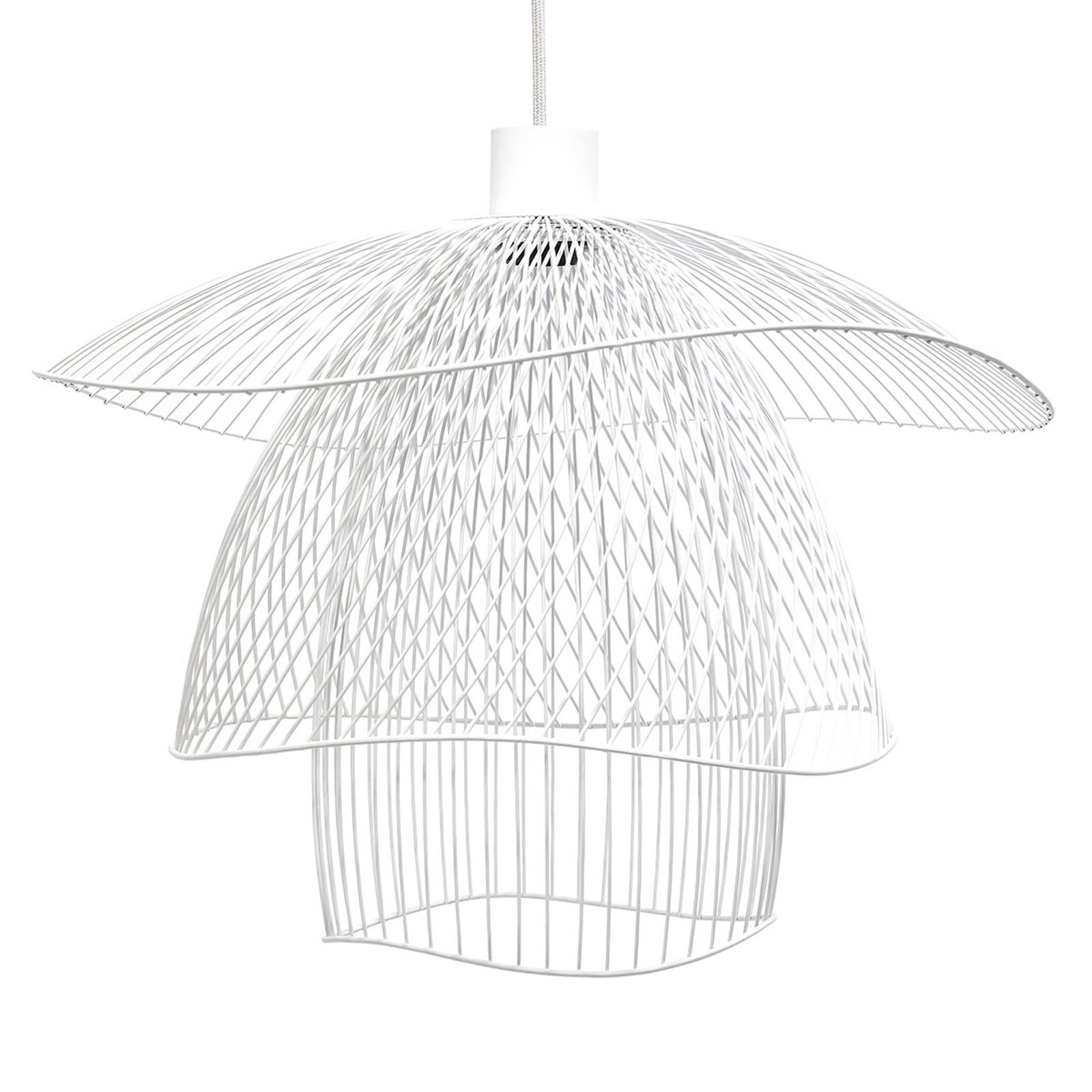 Forestier Papillon S hanglamp 56 cm wit