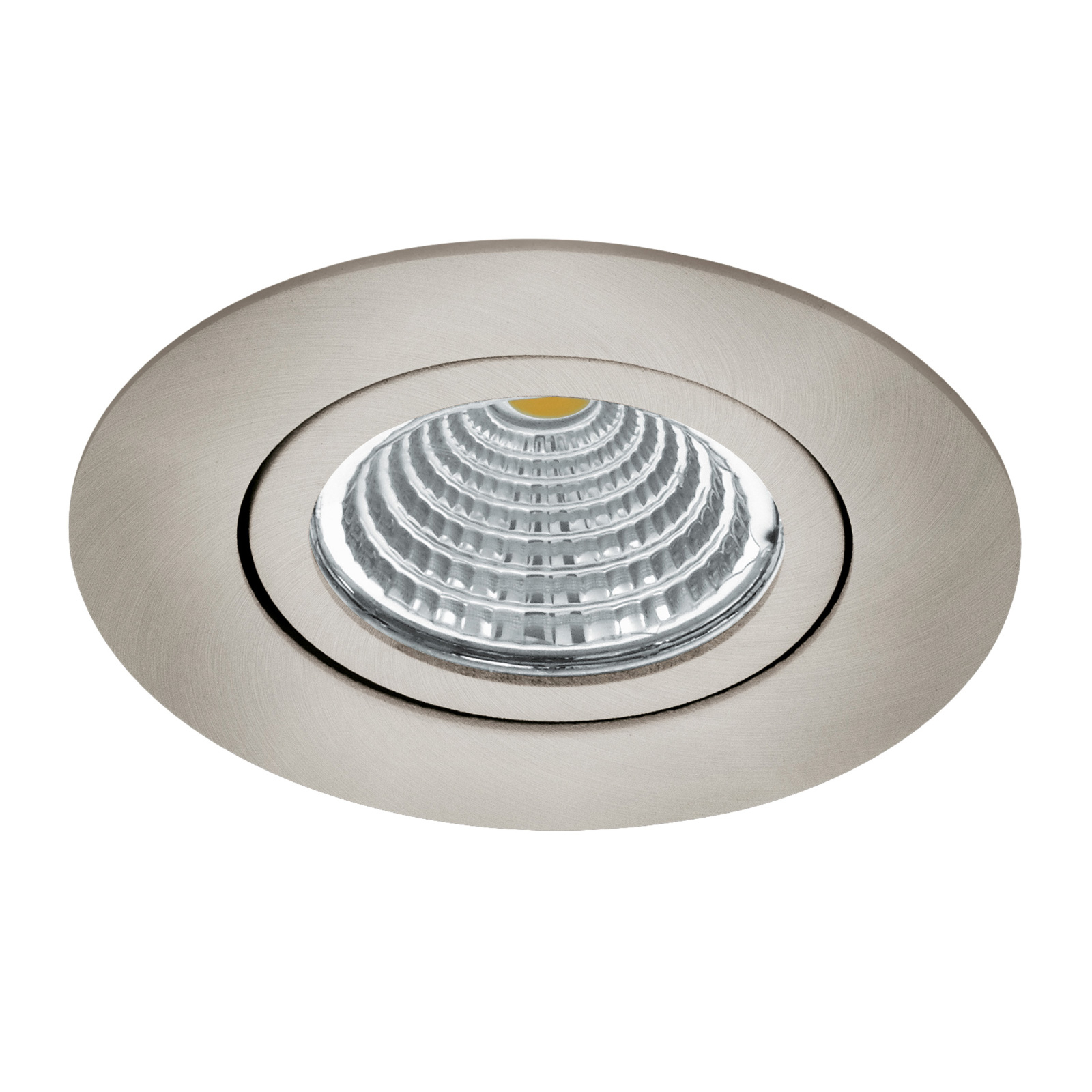 LED spot Saliceto rond draaibaar 2.700K nikkel