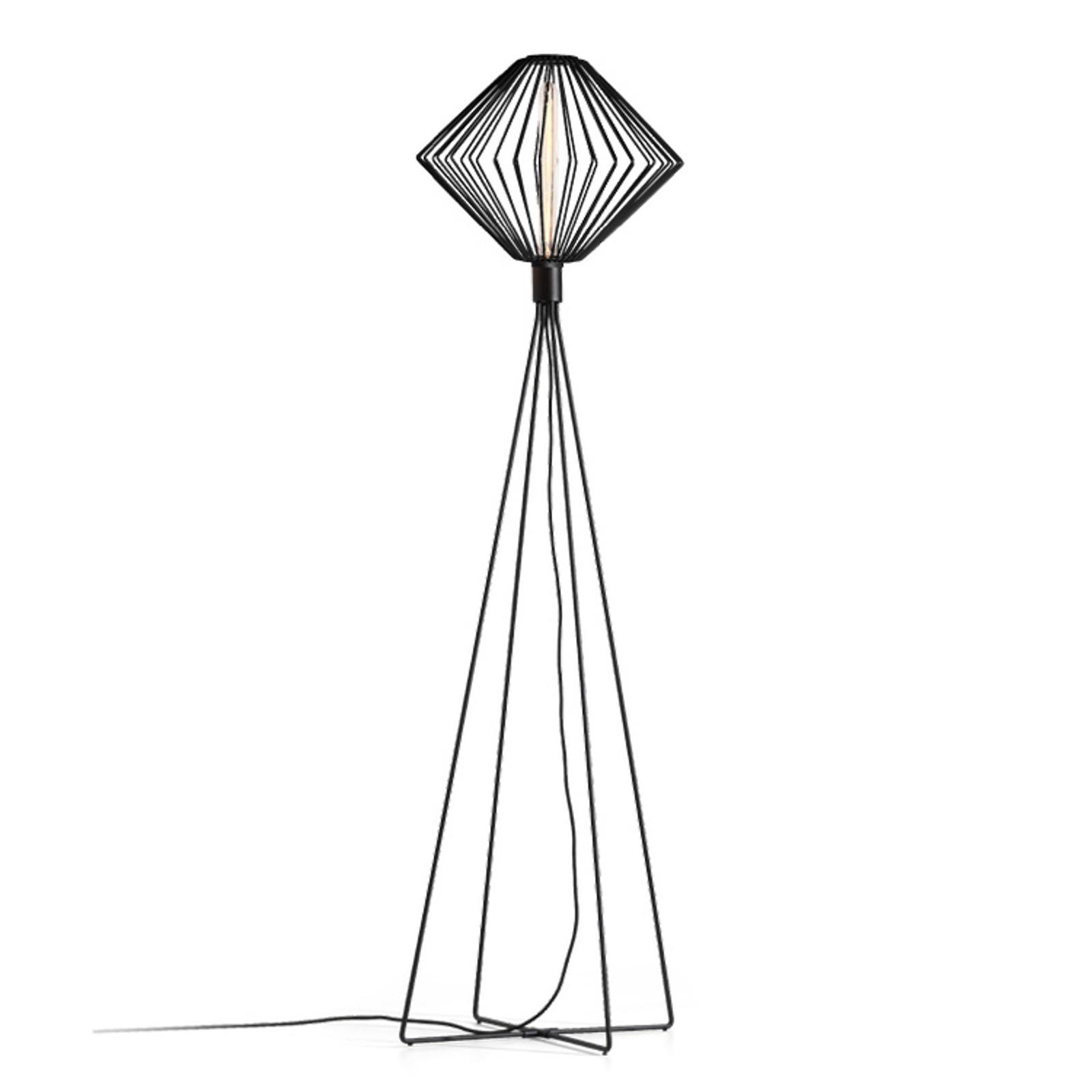 WEVER & DUCRÉ Wiro Diamond lampadaire noir