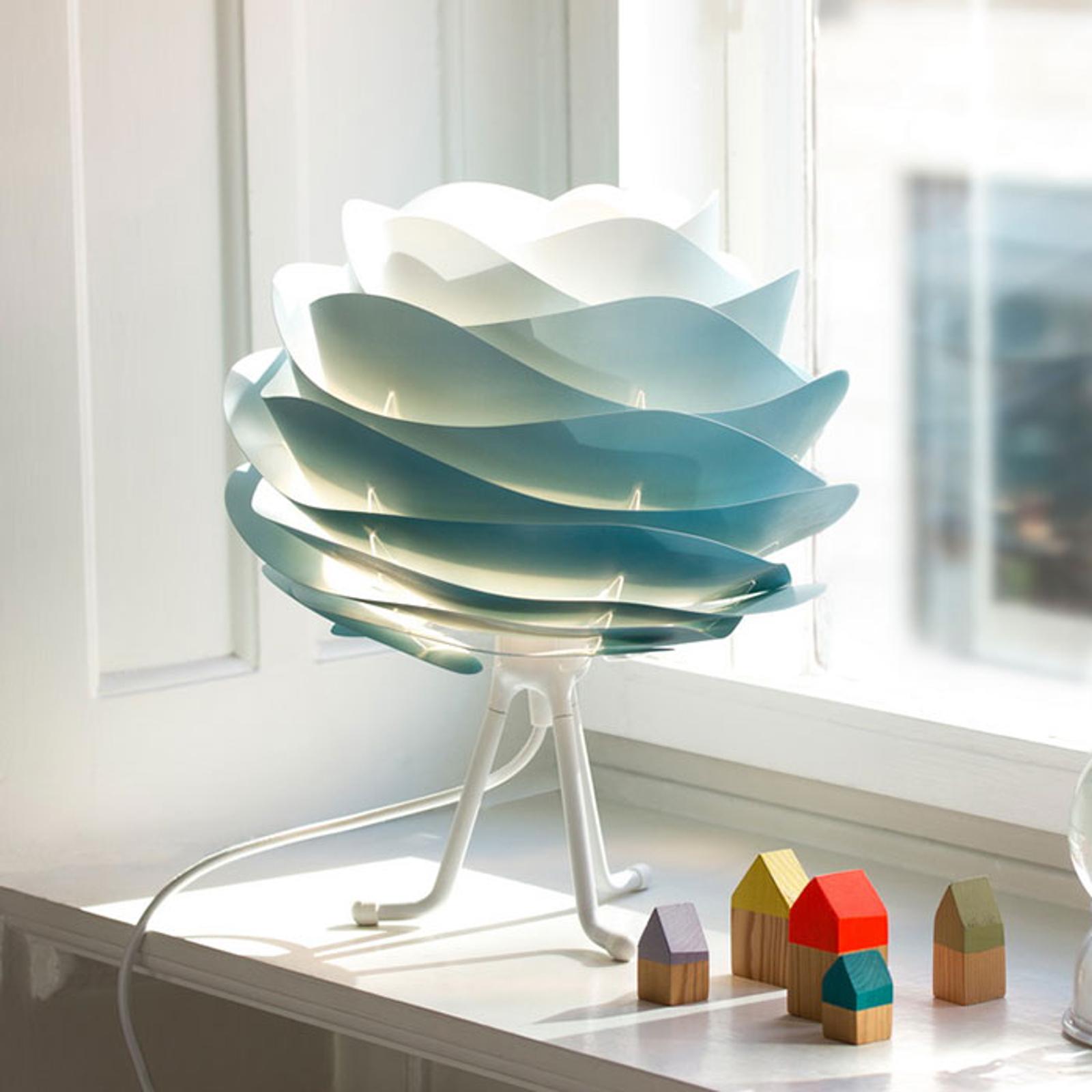 UMAGE Carmina Mini tafellamp blauw/tripod base w