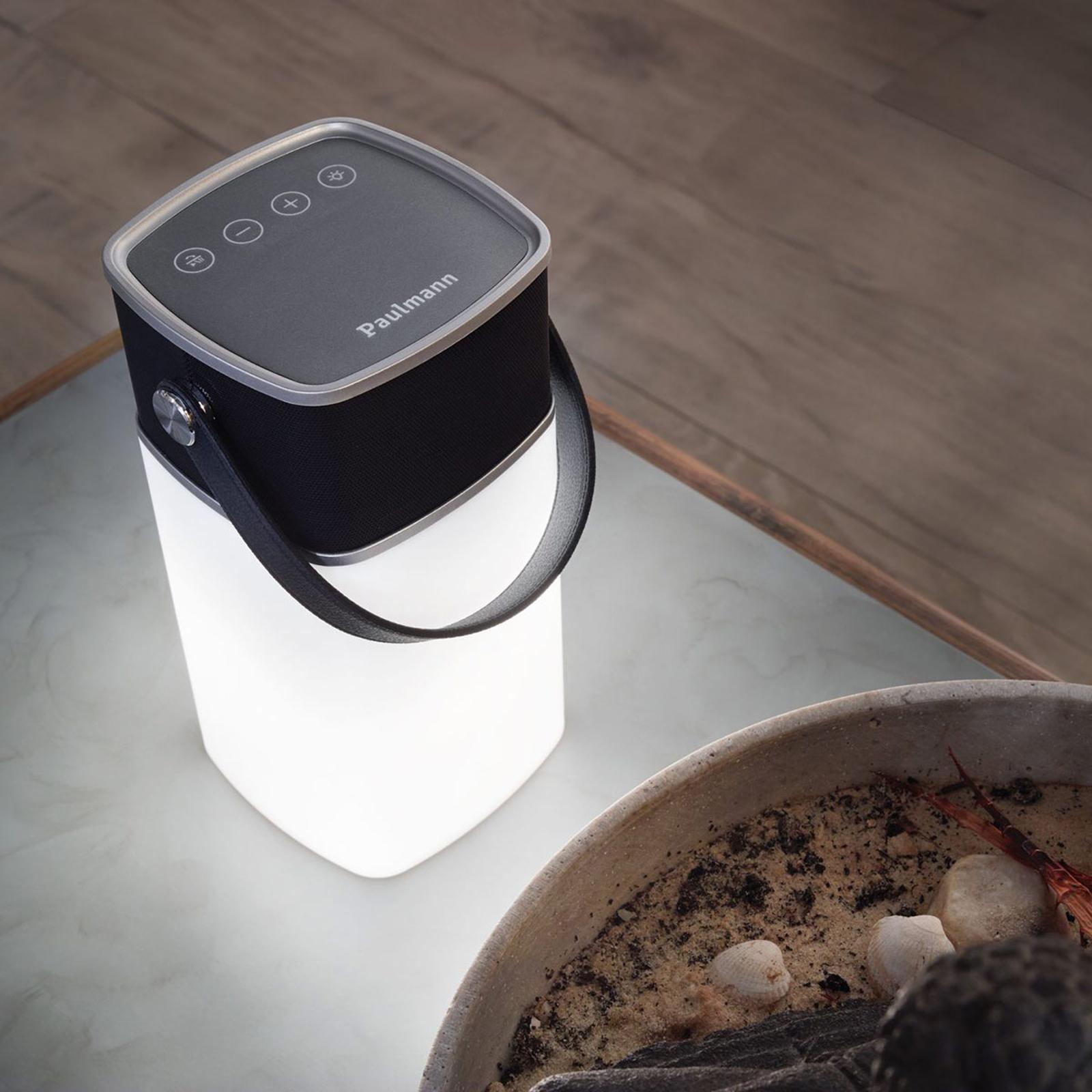 Paulmann Clutch lampada da tavolo Bluetooth suono