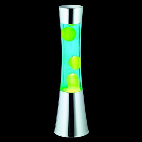 Met groene lava - lavalamp Jarva