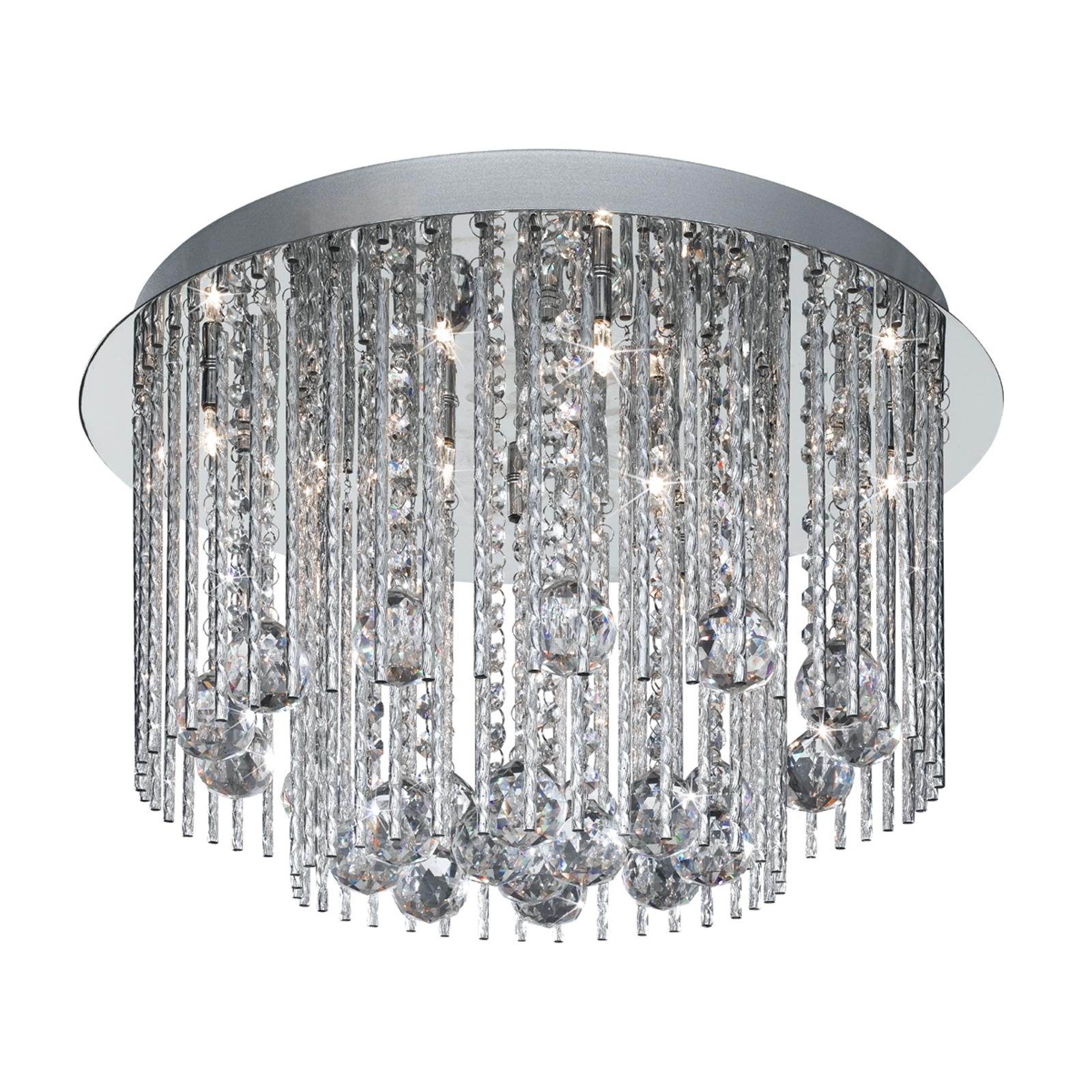 BEATRIX - lampa sufitowa ze zwis. kryształami