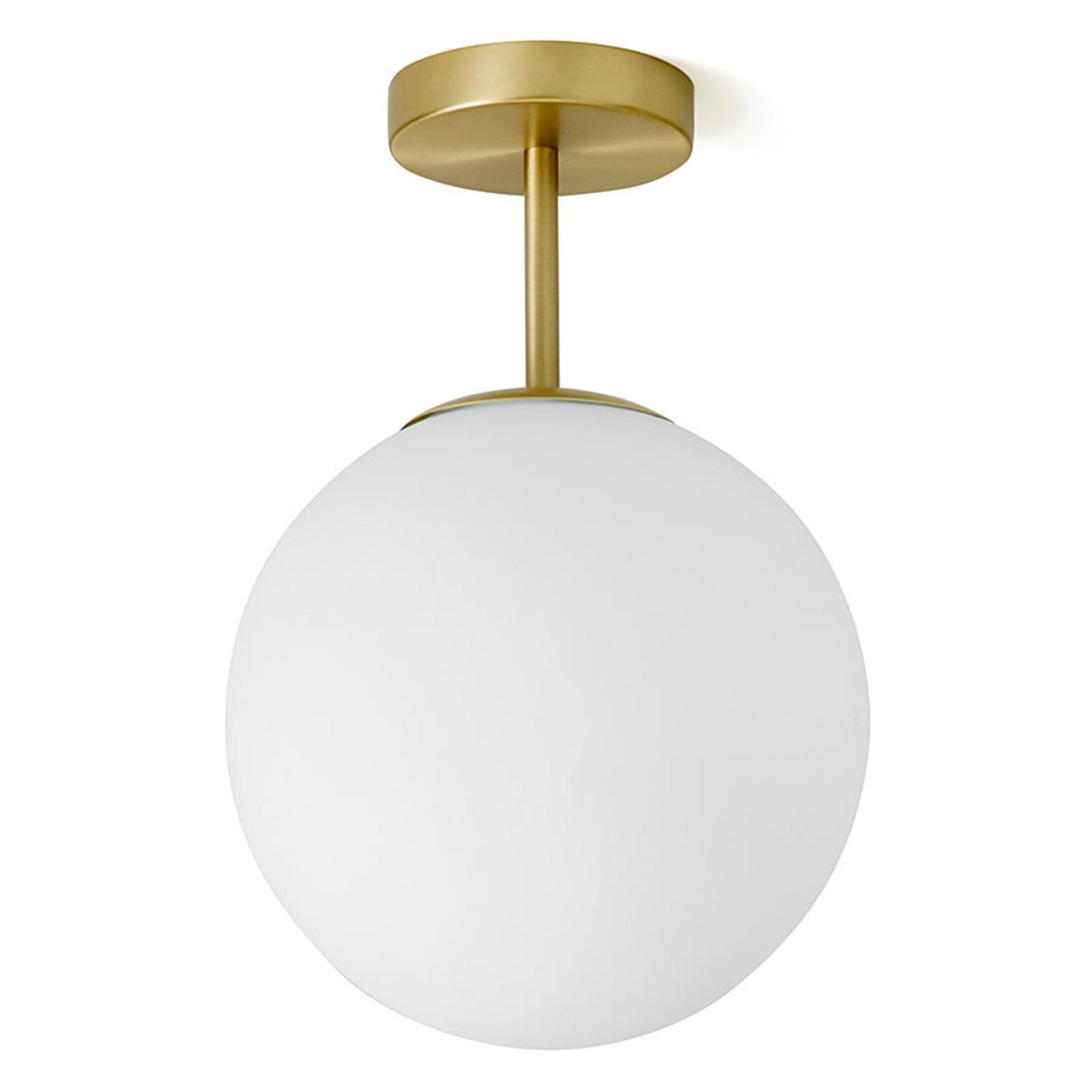 Mosiężna lampa sufitowa Jugen 1-punktowa