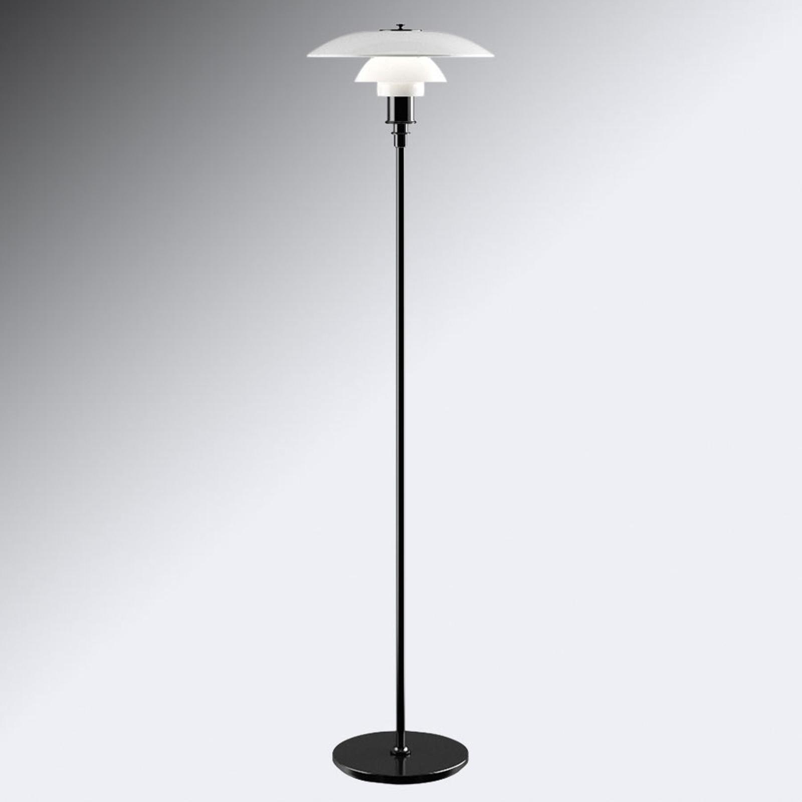 Louis Poulsen PH 3 1/2-2 1/2 standerlampe, sort