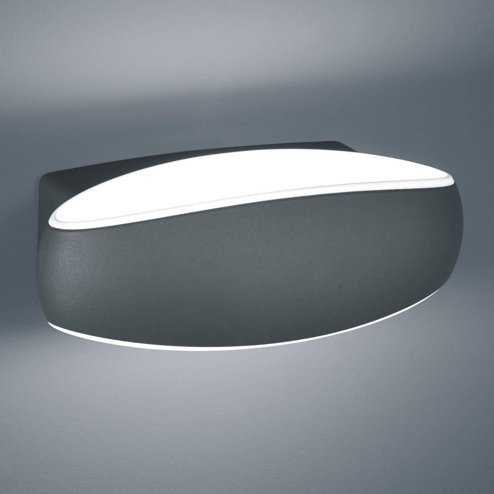 Helestra Sea - LED buitenwandlamp in ovale vorm