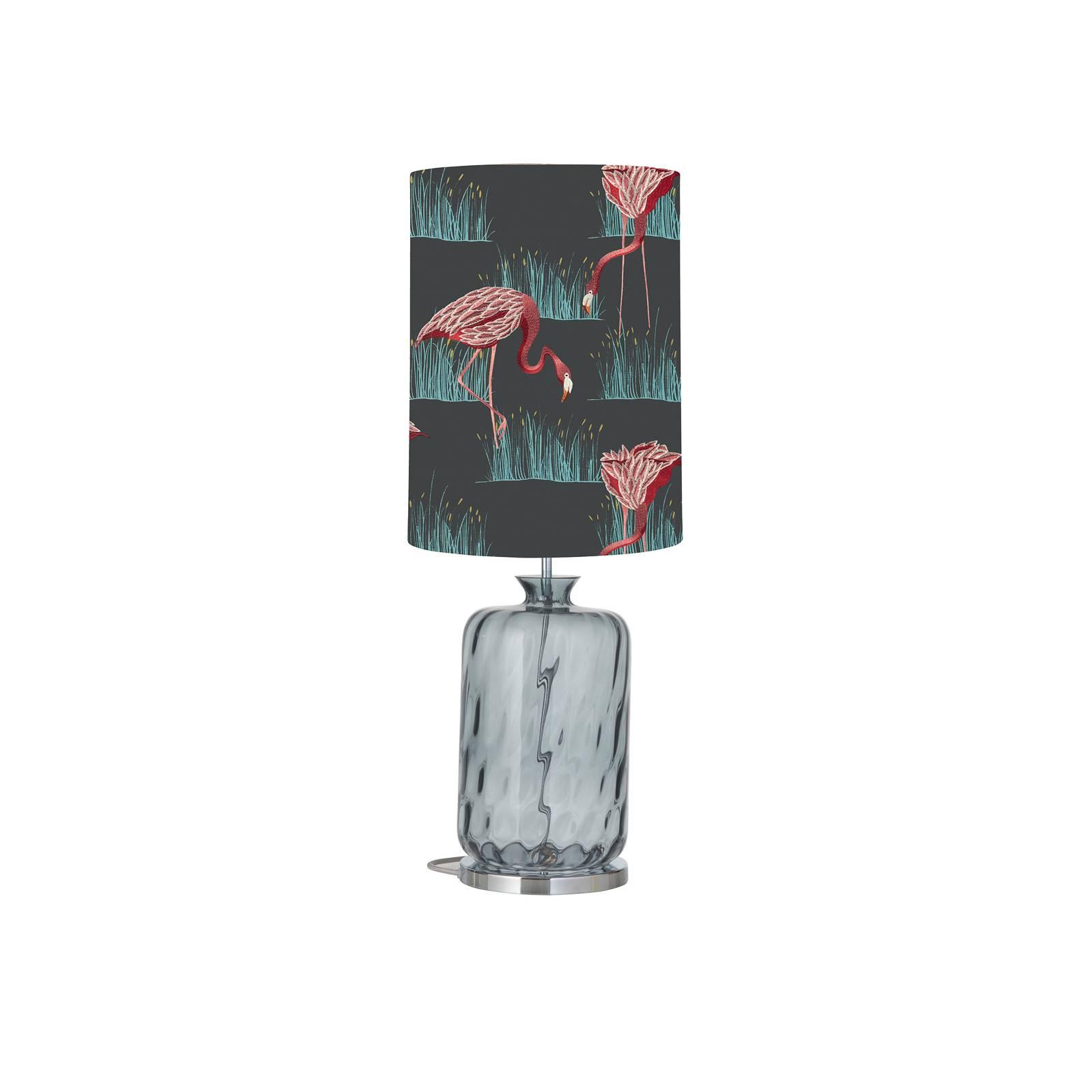 EBB & FLOW Pillar lampe à poser azelea/lagoon