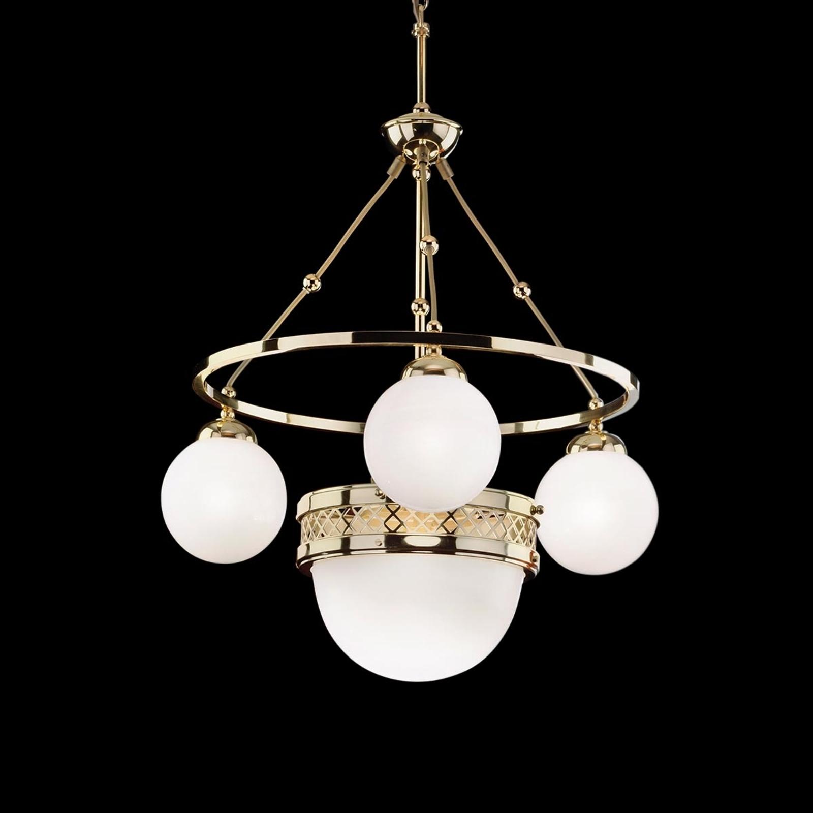 Alt Wien  mosiężna lampa wisząca