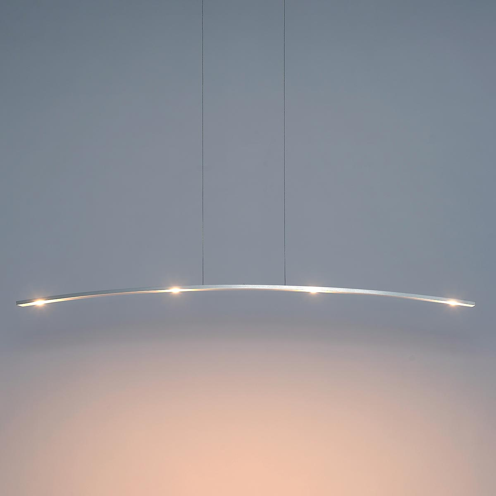 Suspension LED Change, design linéaire