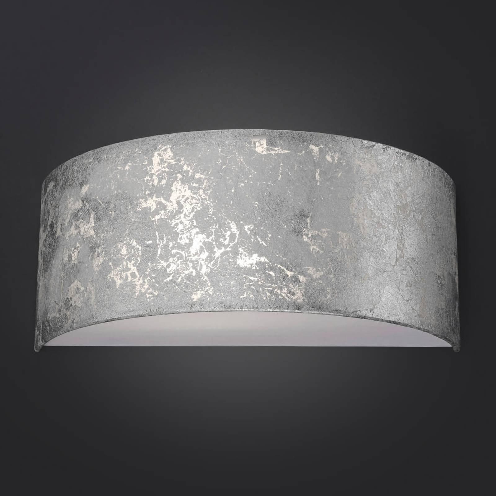 LED-Wandleuchte Alea mit Blattsilber dimmbar