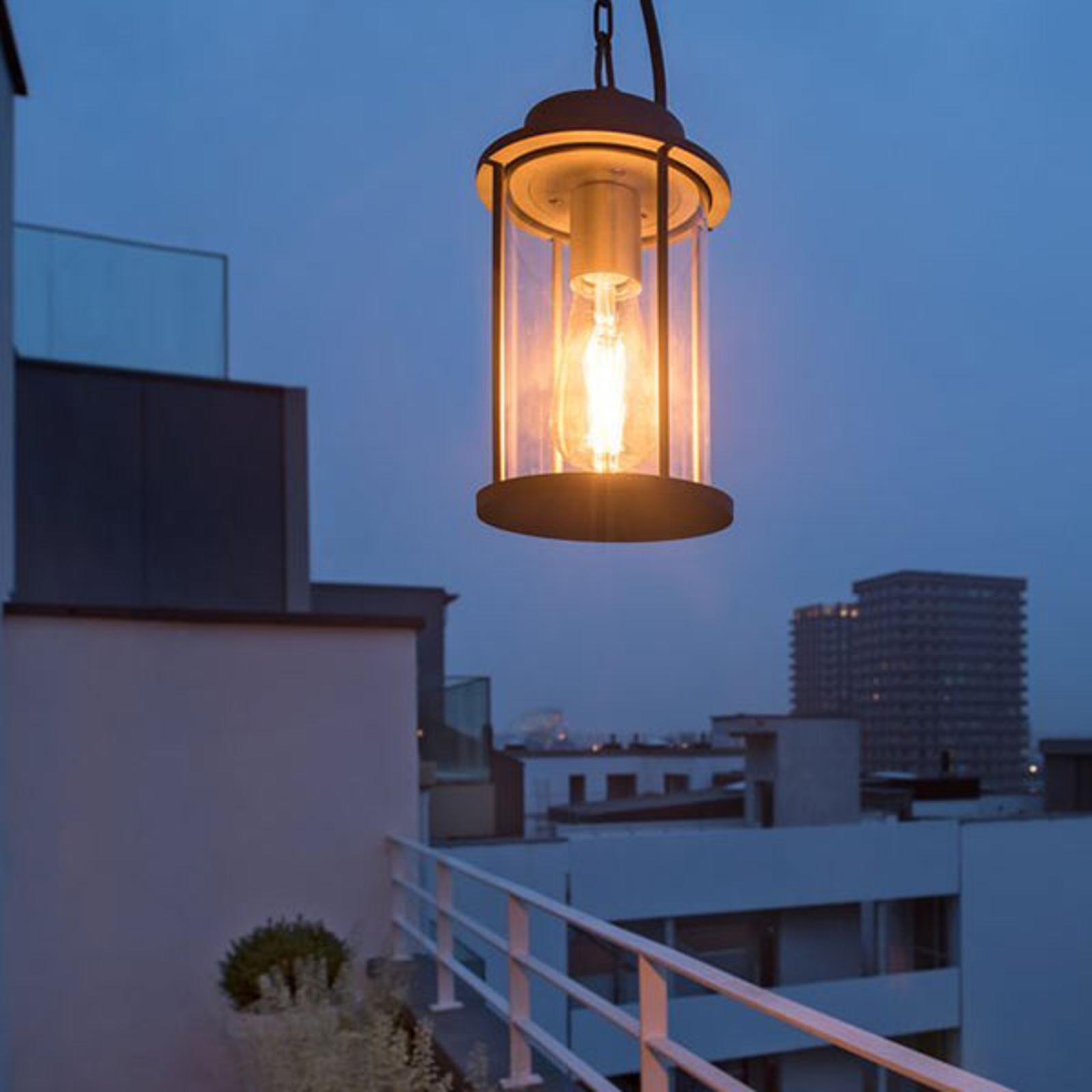 SLV Photonia lampa wisząca zewnętrzna, antracytowa