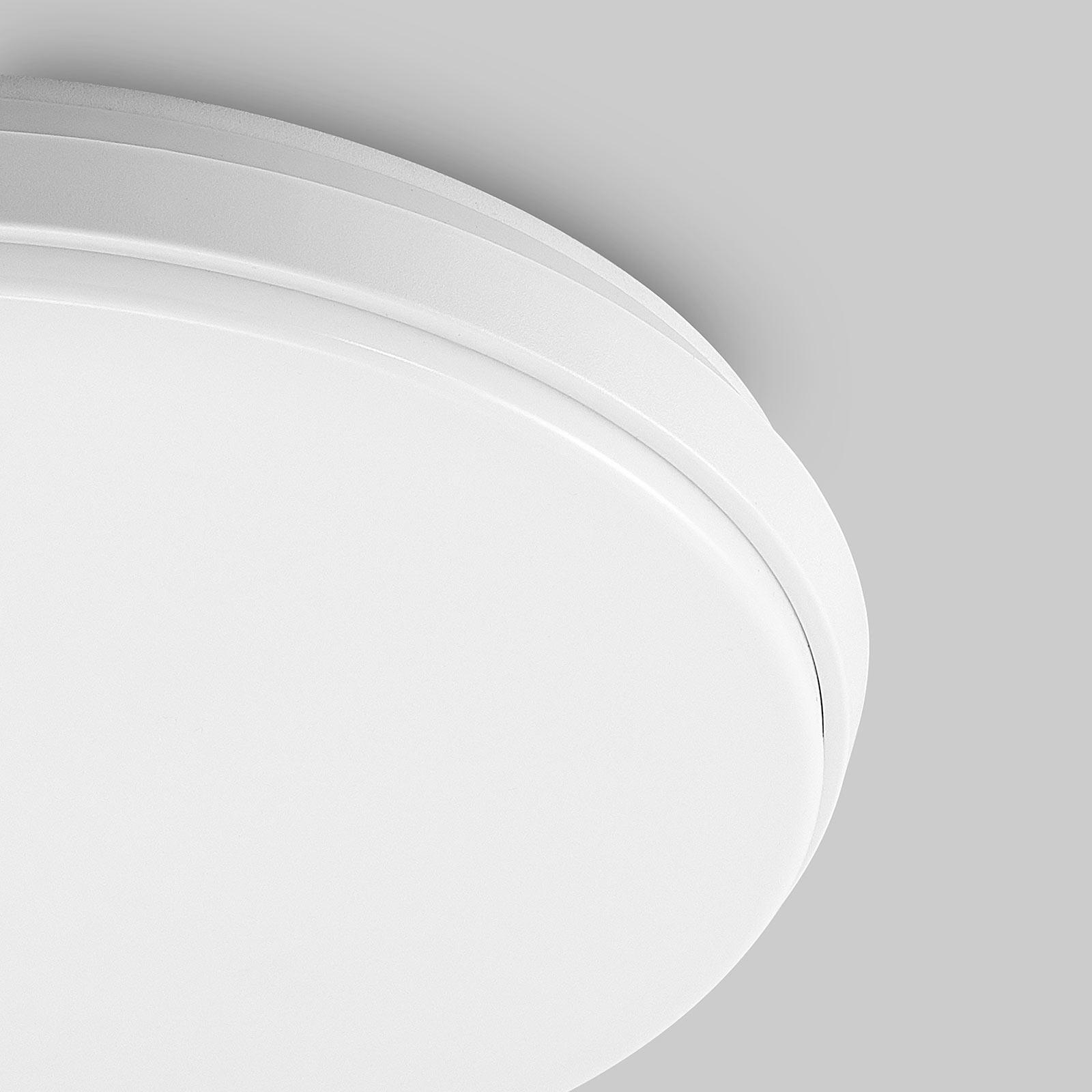 Arcchio Brady LED plafondlamp, wit, rond, 40 cm