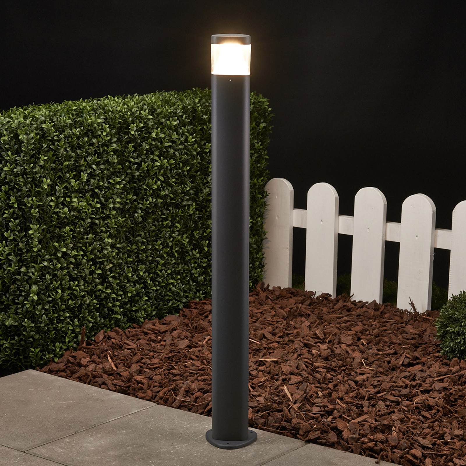 Milou LED Bollard Lamp Made of Aluminium_9617018_1