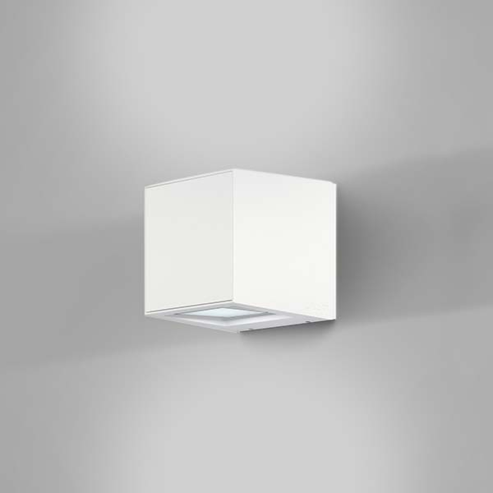 IP44.de Gap Q - LED buitenwandlamp, wit