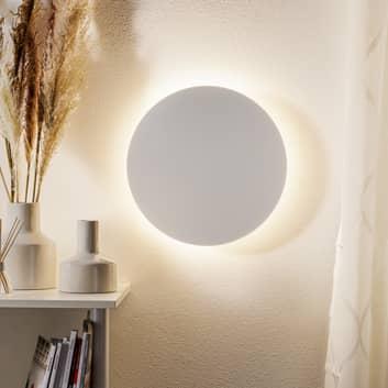 Escale Blade -LED-seinävalaisin, mattavalkoinen