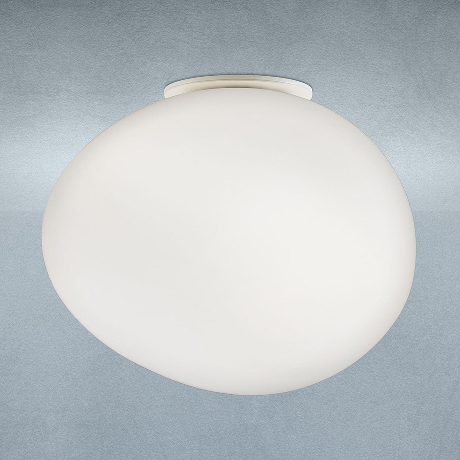 Foscarini Gregg media loftlampe af glas, 12 cm
