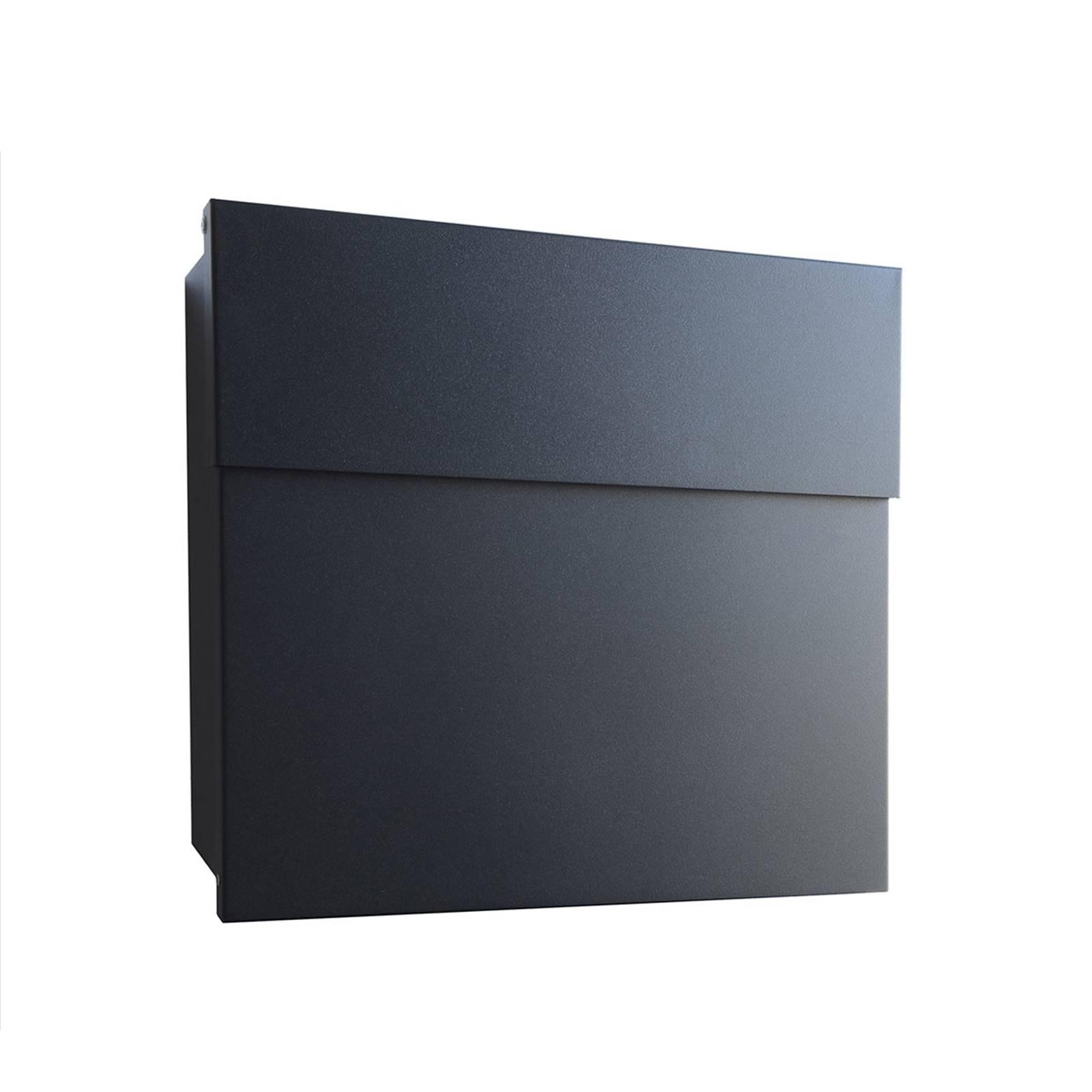 Cassetta postale di design Letterman IV, nero