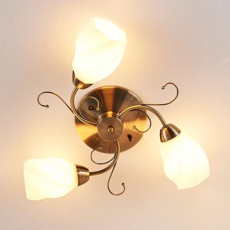 Romantisch gestaltete Deckenlampe Amedea