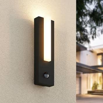 Lucande Virgalia aplique LED exterior con sensor