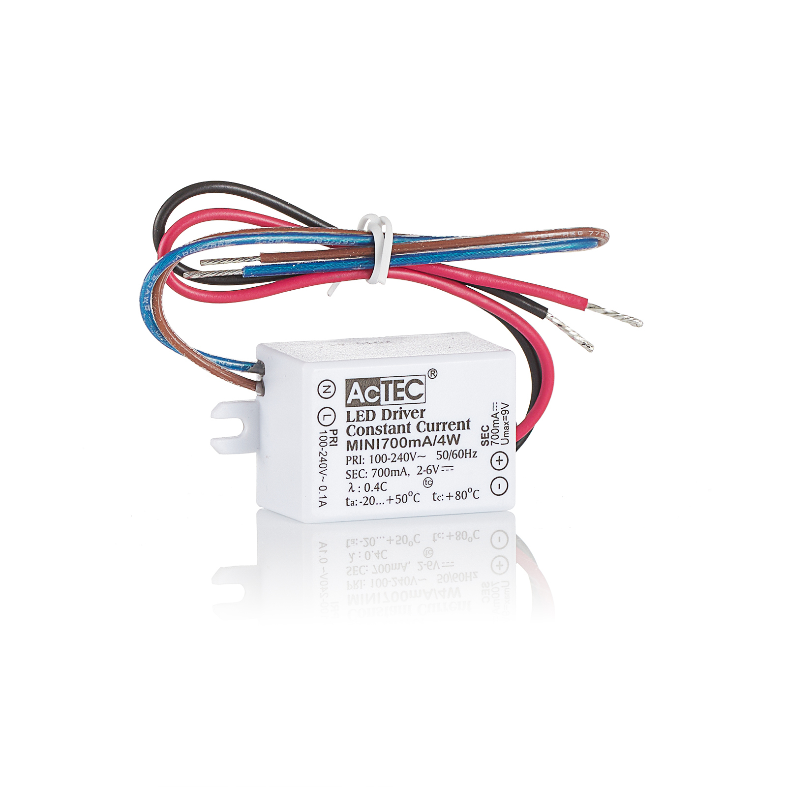 AcTEC Mini LED-Treiber CC 350mA, 4W, IP65
