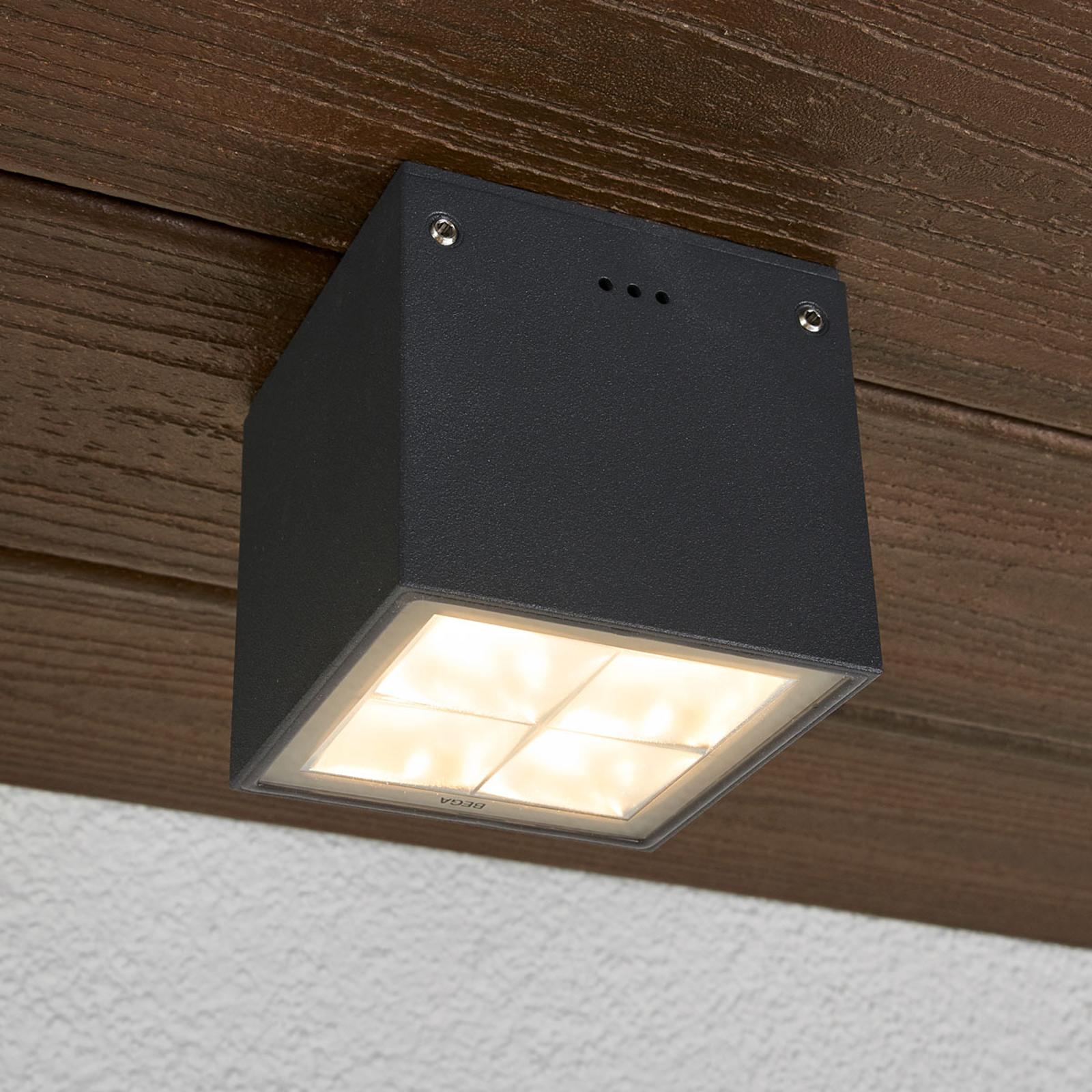 Acquista Plafoniera LED angolare 66157K3, per esterni, IP65