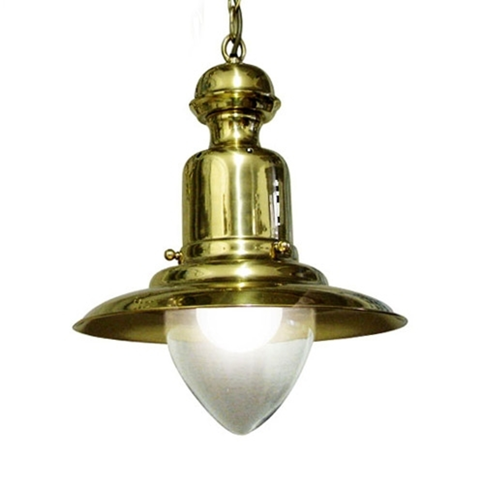 Stylowa lampa wisząca FISHERMEN 33 cm