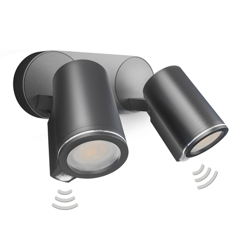 STEINEL Spot Duo Sensor Connect LED-spot x2