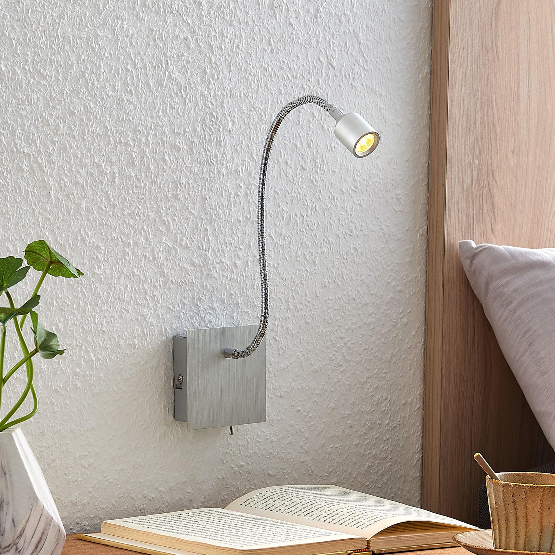 Lindby Anjalee LED wandlamp, flexibele arm